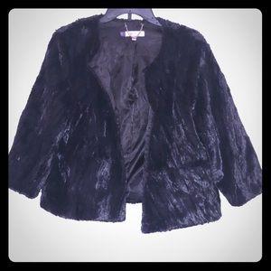 Jennifer Lopez fur jacket